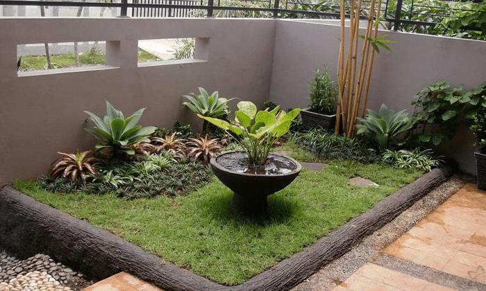 Cara Membuat Taman Kecil Di Depan Rumah Secara Sederhana